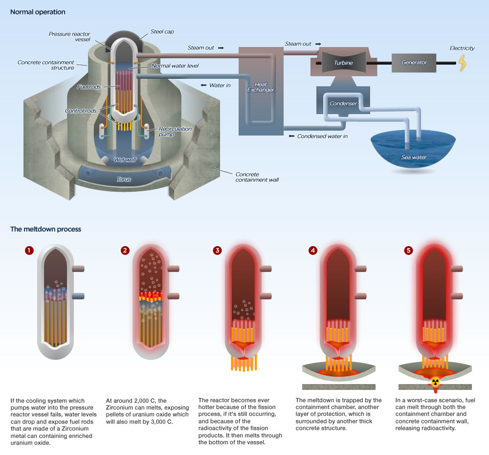 Bwr boiling water reactors enformable for Pool design reactor