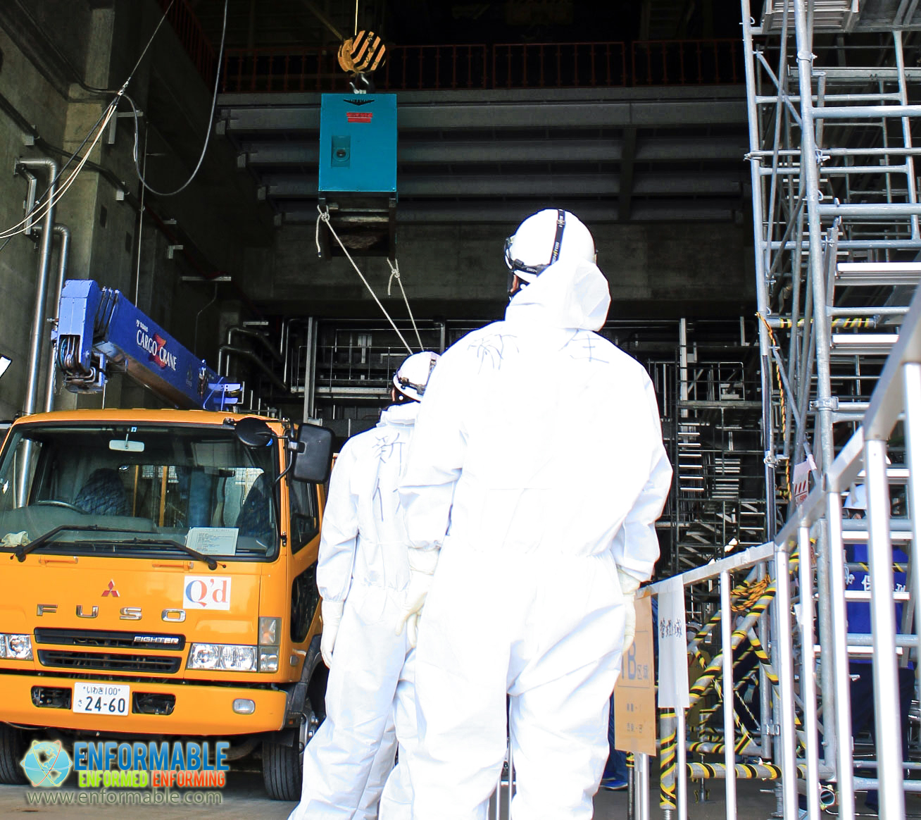 Fukushima Workers Loading