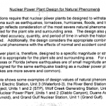 Nuclear Power Plant Design for Natural Phenomena