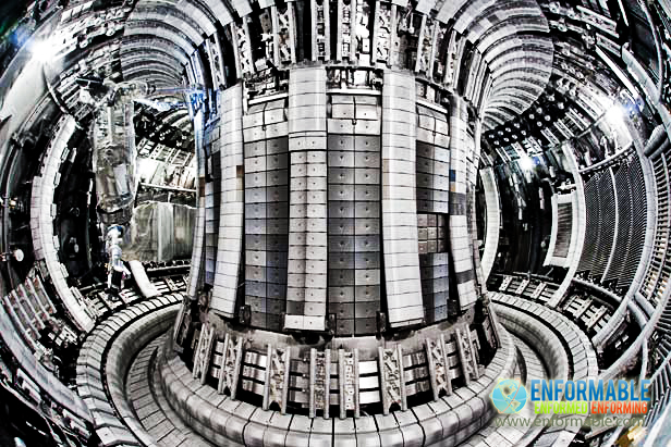 The test of a new lining that can take the heat of fusion could be crucial for a planned reactor in France.