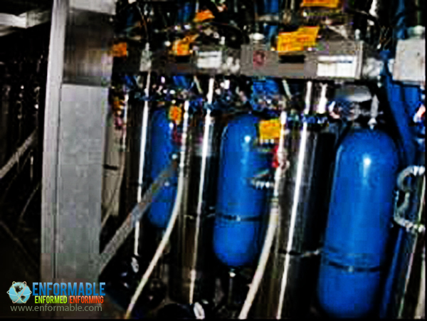 Unit 5 Control rod water pressure control unit (Reactor building 1F)