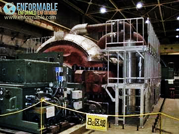 Unit 5 High pressure turbine (Turbine building 2F)