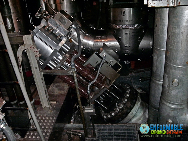 Unit 5 Main steam isolation valve (Primary Containment Vessel 1F)