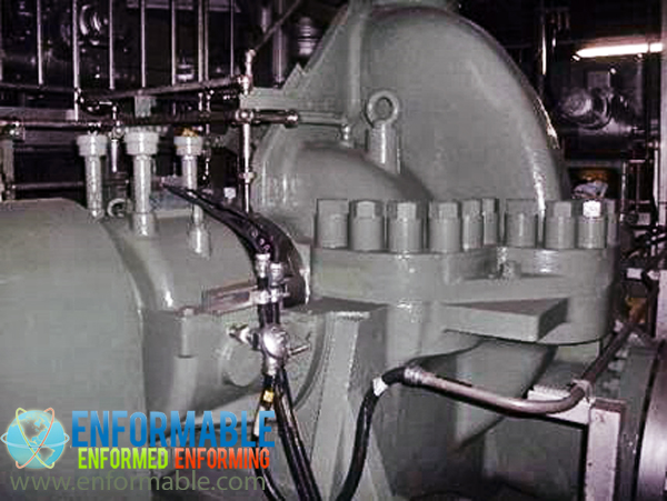 Unit 6 High pressure condensate pump (Turbine building B1F)
