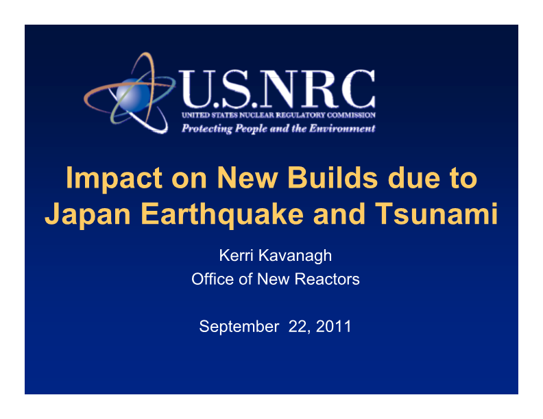 NUPIC Fukushima Impact on New Builds1