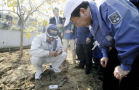 PM Noda inspects decontamination work in Fukushima