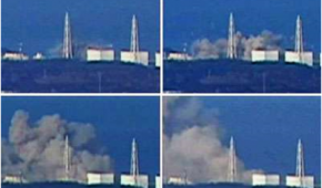 The explosion at Reactor 1 did not effect the towers in the same manner