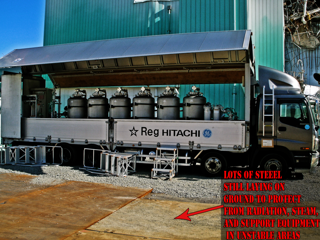 Enformable Resumption of salt removal by ion exchanger in SFP of Fukushima Daiichi Unit 4-1024