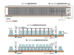 Enformable Establishment of temporary storage facilities cesium adsorption tower