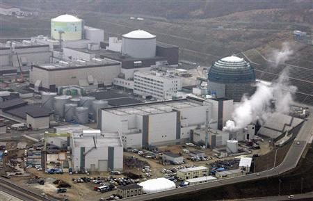 Hokkaido Electric Power Co.'s Tomari nuclear power plant is seen in Tomari town, Japan