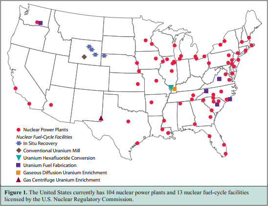 US Nuclear Facilities
