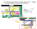Countermeasures against expansion of leakage at Fukushima Daiichi