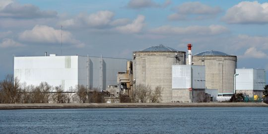 A fire broke out at Fessenheim Unit 2 this week
