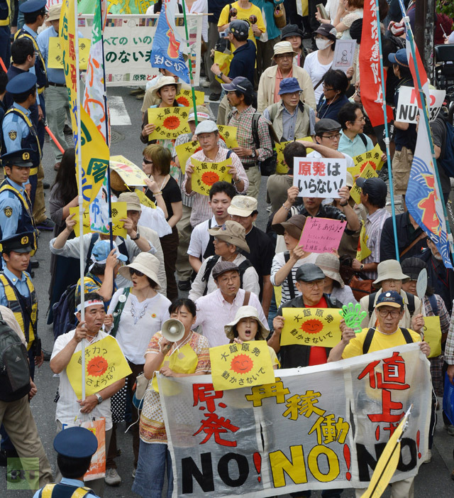 JAPAN-NUCLEAR-ENERGY-DISASTER-PROTEST