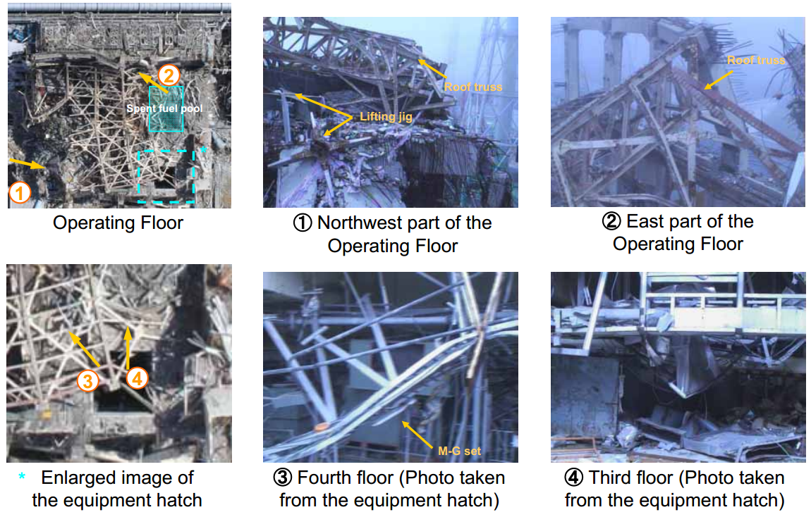 Fukushima Daiichi Nuclear Power Station Unit 3 ReactorBuilding Operating Floor Area Investigation