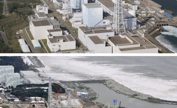 Fukushima Daiichi Before and After