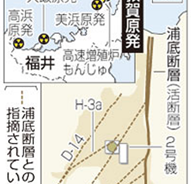 Tsuruga Nuclear Power Plant Underground Faults