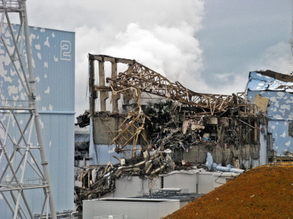 Fukushima Daiichi Unit 3 after explosion - March 20th, 2011 - 3
