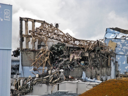 Fukushima Daiichi Unit 3 after explosion - March 20th, 2011 - 5