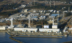 File photo of Tokyo Electric Power Co.'s tsunami-crippled Fukushima Daiichi nuclear power plant in Fukushima Prefecture