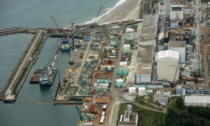 Groundwater contamination at Fukushima plant