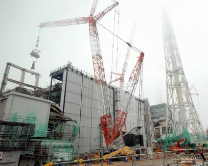 Debris removal operations being carried out at the Unit 3 reactor at the Fukushima Daiichi nuclear power plant are being blamed for large releases of radiation into the environment.