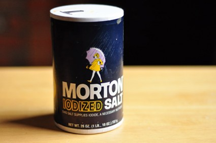 Mortons Iodized Salt