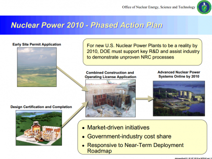 Nuclear Power 2010 - Phased Action Plan