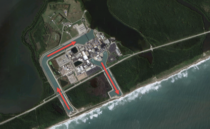 St Lucie Nuclear Power Plant Water Intake